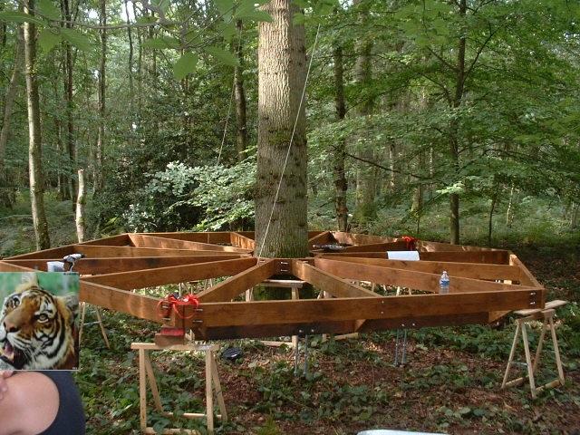 Montage - Fixation cabane dans les arbres ...